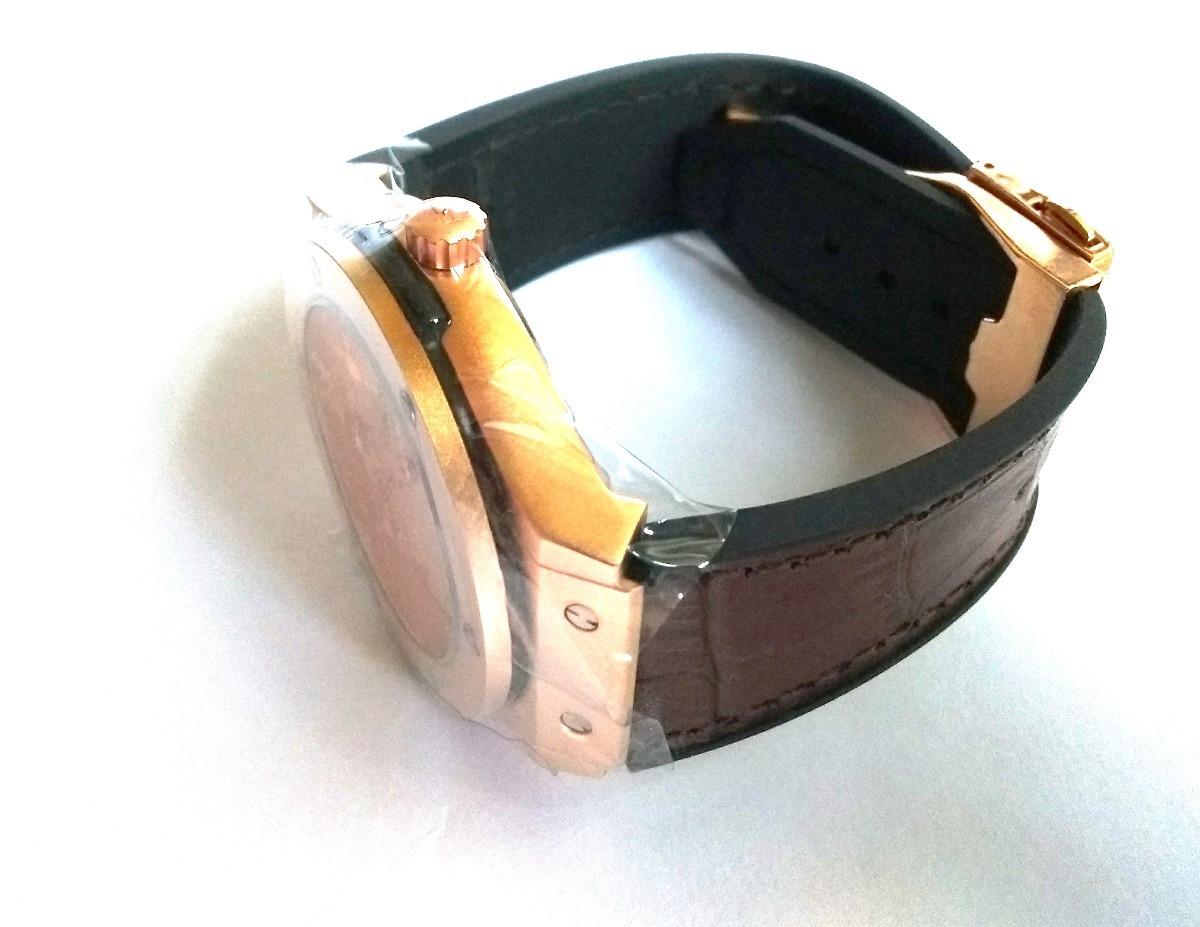 a6b3852f964 Relógio Masculino Dourado Social Homens Chiques + Frete - R  120