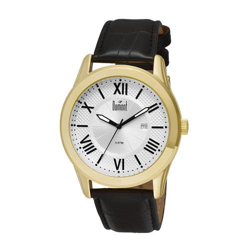 relógio masculino dumont analógico du2115bt/3k
