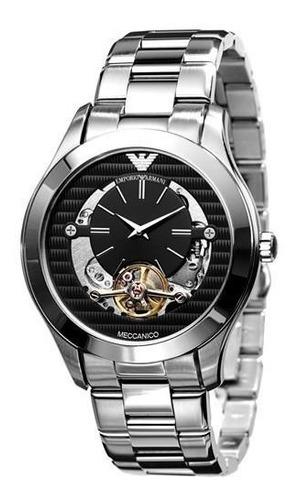 relógio masculino emporio armani automático original ar4642