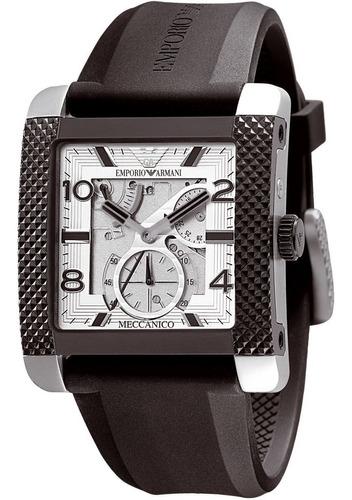 relógio masculino emporio armani borracha original nf ar4231