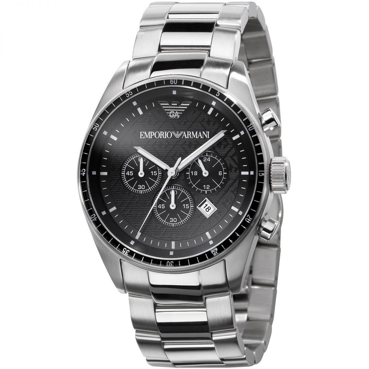 74bf61768a7 relógio masculino emporio armani cronógrafo original ar0585. Carregando  zoom.