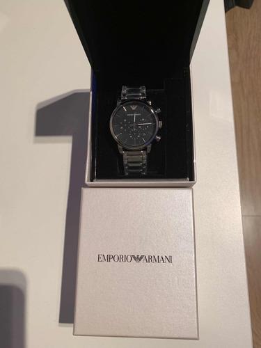 relógio masculino emporio armani mod ar1853