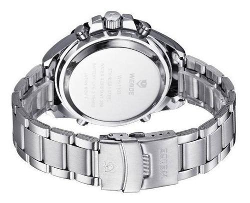 relógio masculino esport weide pesado barato original dj0076