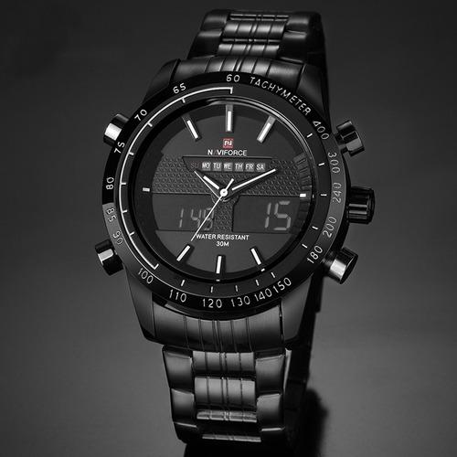 relógio masculino esporte racer militar naviforce original