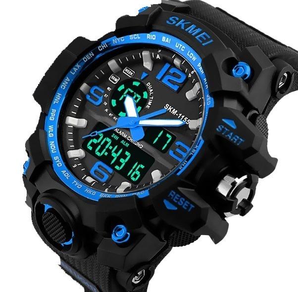 f79ba07a670 Relógio Masculino Esporte Wr Resistente Água 1155 - R  62