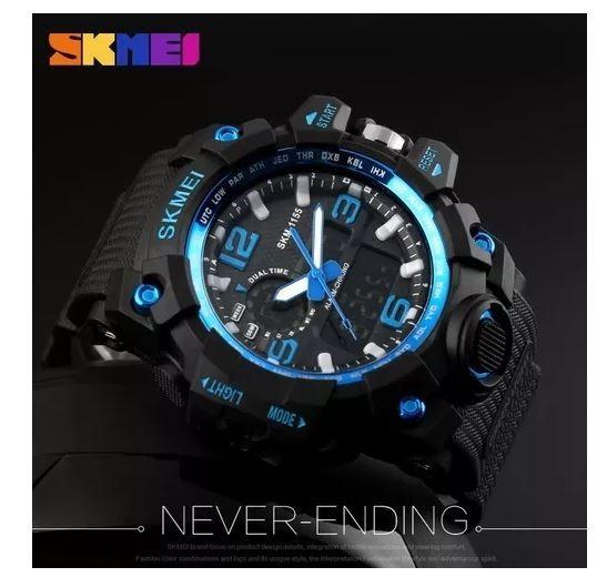 e2c55cefa70 Relógio Masculino Esporte Wr Resistente Água 1155 - R  60