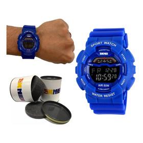 Relógio Masculino Esportivo A Prova Dágua Barato + Nf 91