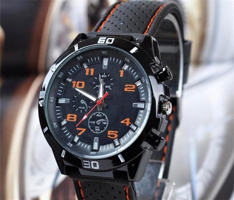 b0d46a19667 Relógio Masculino Esportivo Analogico Pulseira Silicone Novo - R  30 ...