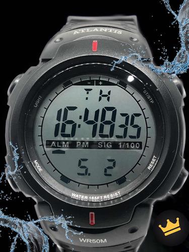 relógio masculino esportivo apróva d'água original com caixa