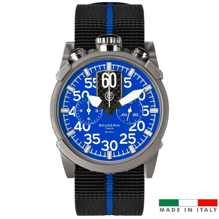 5daa6bb51f1 Relogio Masculino Esportivo Ct Scuderia Saturno Azul - R  4.829