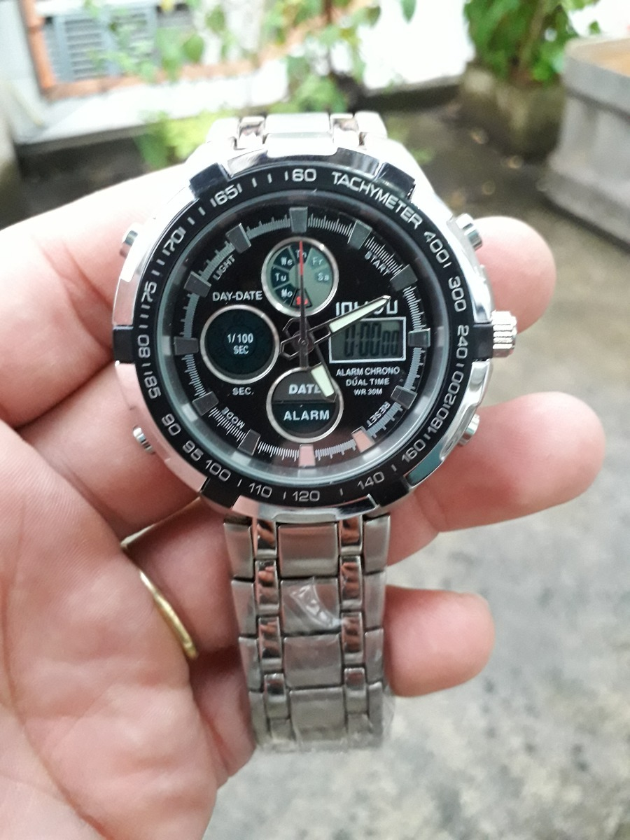 1d3fc930273 relógio masculino esportivo digital anal prova dagua 30m. Carregando zoom.