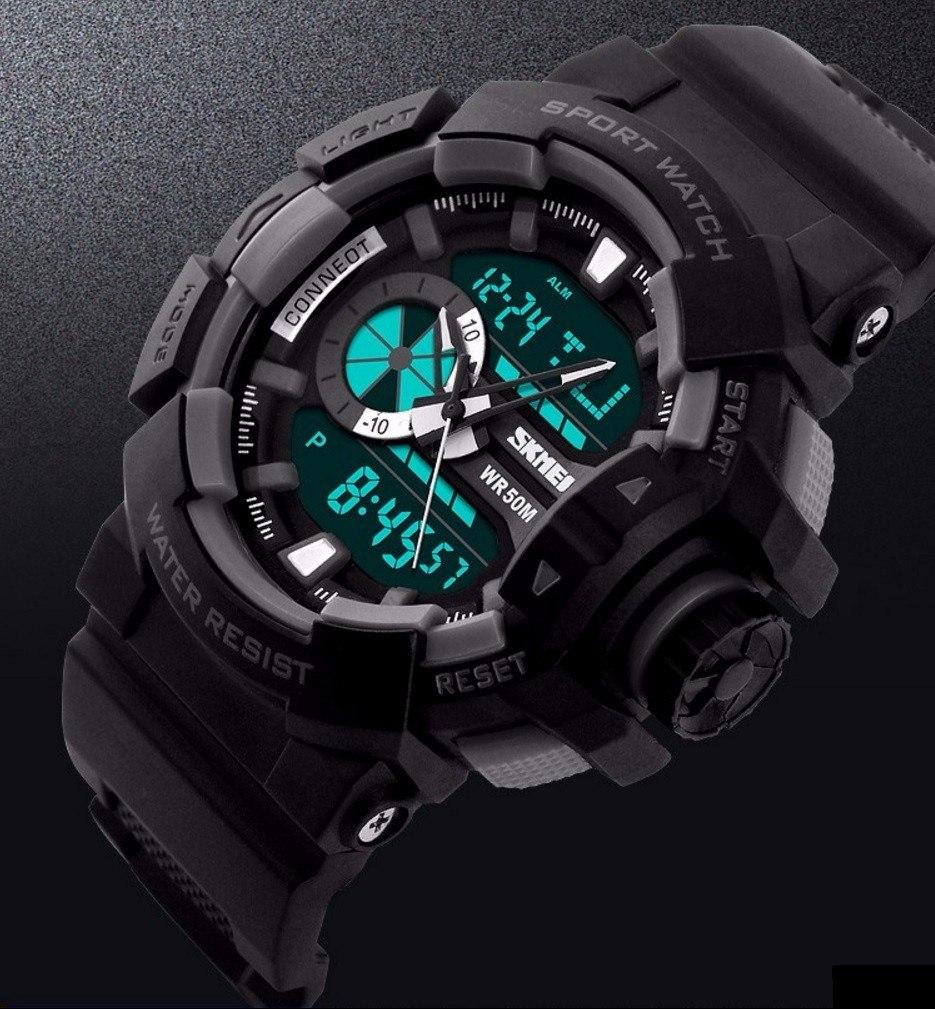5771f756ce6 relógio masculino esportivo digital analógico c luz promoção. Carregando  zoom.