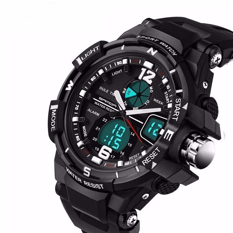 45265e08b3f relógio masculino esportivo digital analógico promoção sanda. Carregando  zoom.