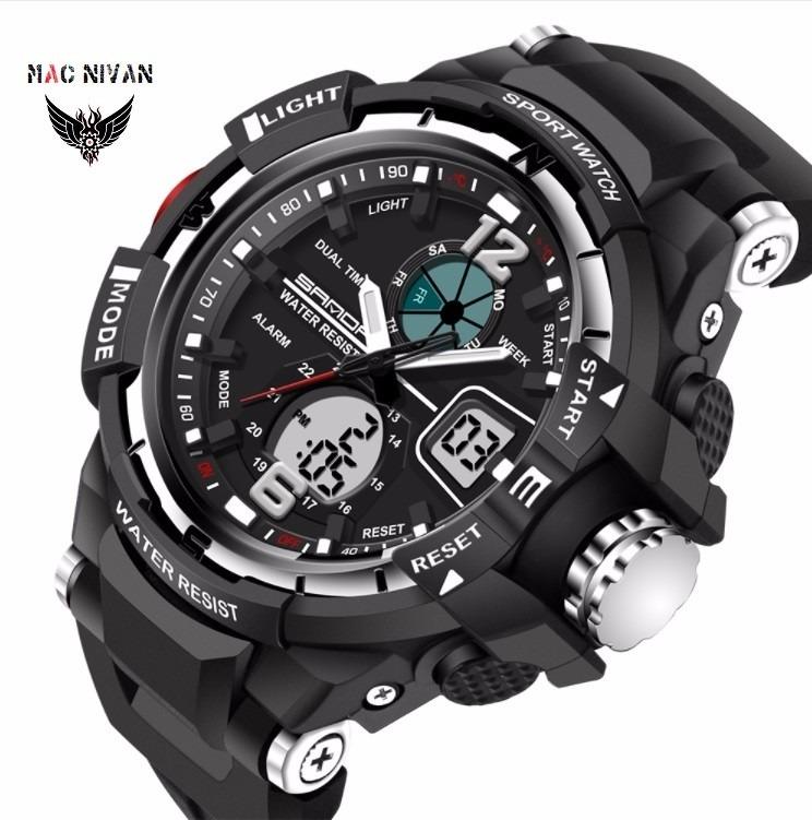 9c9ae2e7350 Relógio Masculino Esportivo Digital Analógico Resist. À Água - R ...