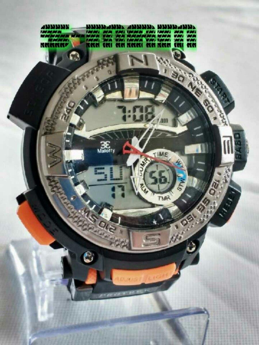 806f2b5b0cb relógio masculino esportivo digital ponteiro original. Carregando zoom.