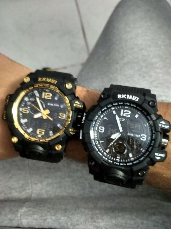 78ff656ba00 ... relógio masculino esportivo estilo g-shock skmei original. Carregando  zoom.