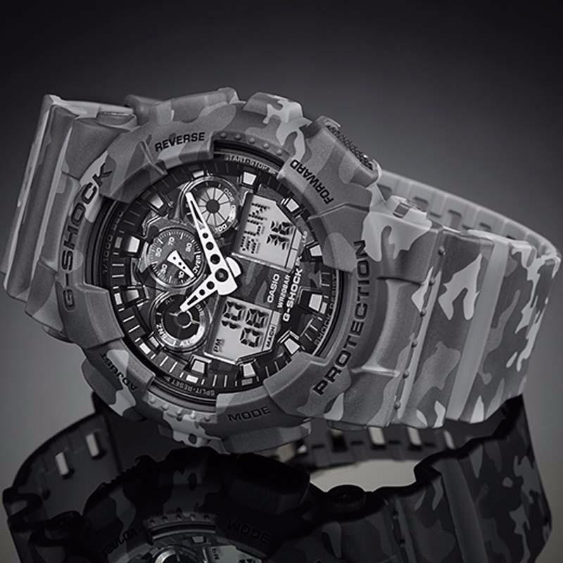 c4db284295c relógio masculino esportivo g-shock original ga100-cm-8adr. Carregando zoom.