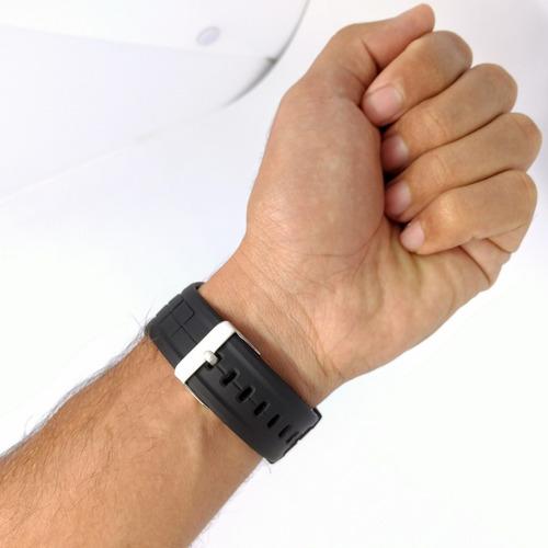 relógio masculino esportivo led digital alarme cronômetro