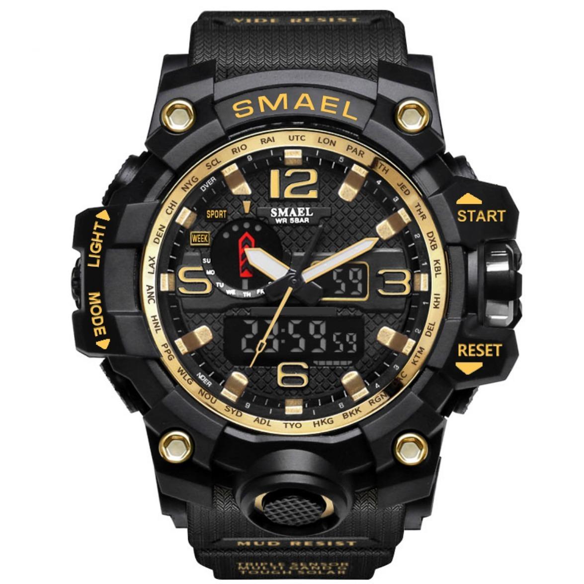 04b28dfacc6 Relógio Masculino Esportivo Militar A Prova D