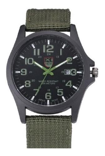relogio masculino esportivo militar pulseira em nylon
