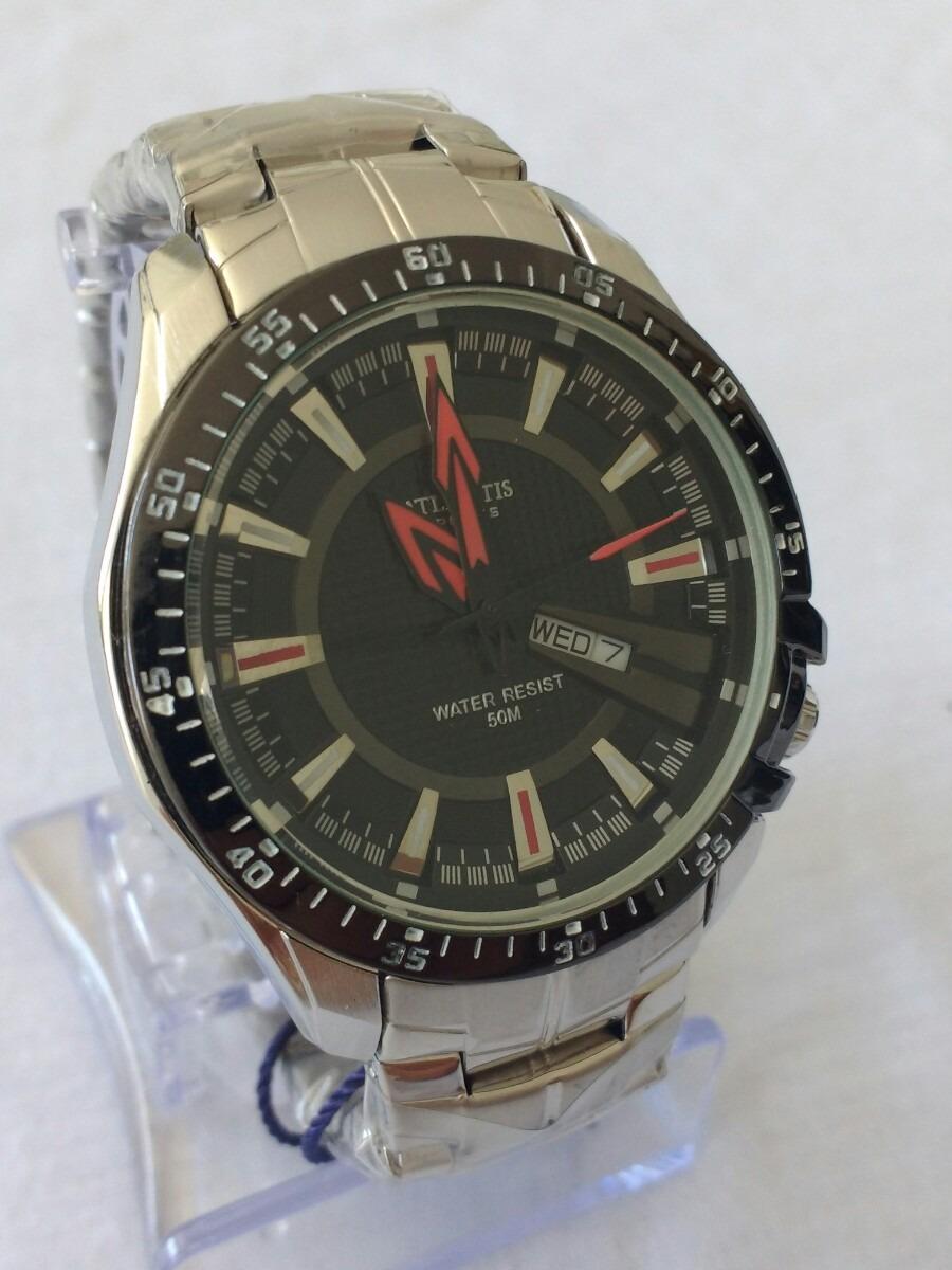 a58f900c438 relógio masculino esportivo original atlantis g-3166. Carregando zoom.