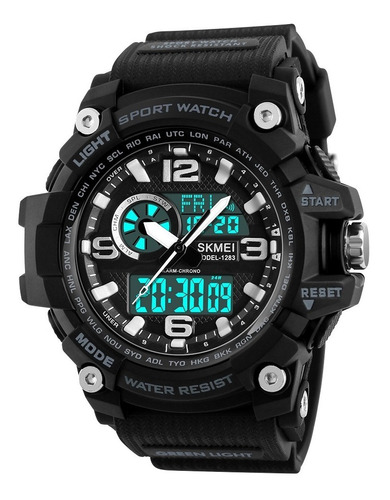 relógio masculino esportivo original skmei 1283 prova d'água