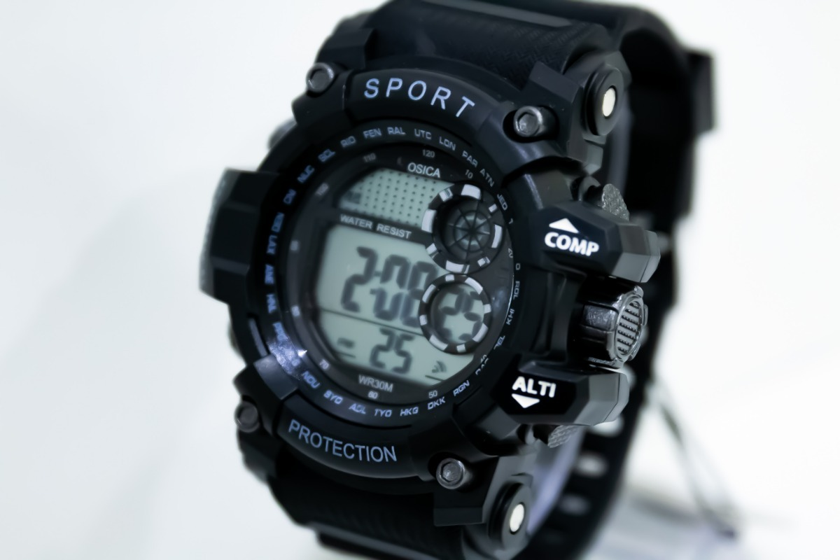ed500f80b90 Relógio Masculino Esportivo Preto Digital R73 - R  98