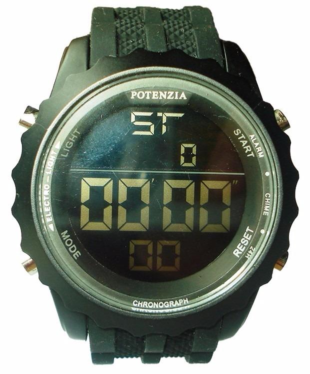 9b9eaefb004 Relógio Masculino Esportivo Pulso Led Digital Com Cronômetro - R  39 ...