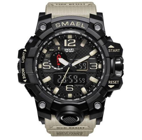 relógio masculino esportivo racer shock esporte frete gratis