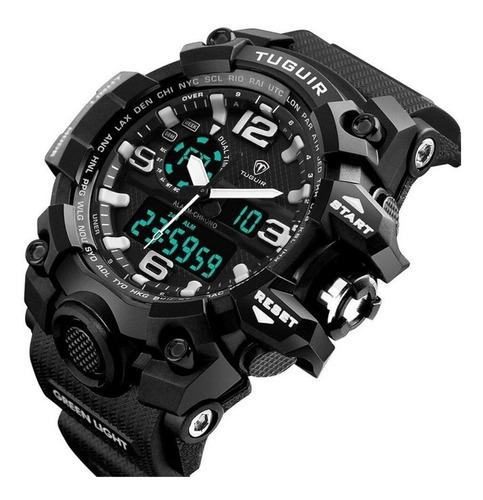 relógio masculino esportivo shock digital original militar