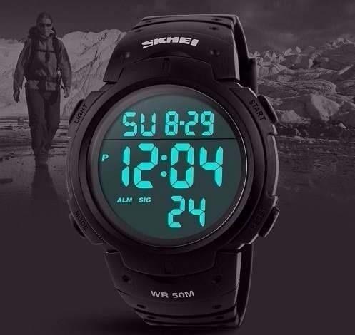 562b5459225 Relógio Masculino Esportivo Skmei 1068 Promoção - R  52