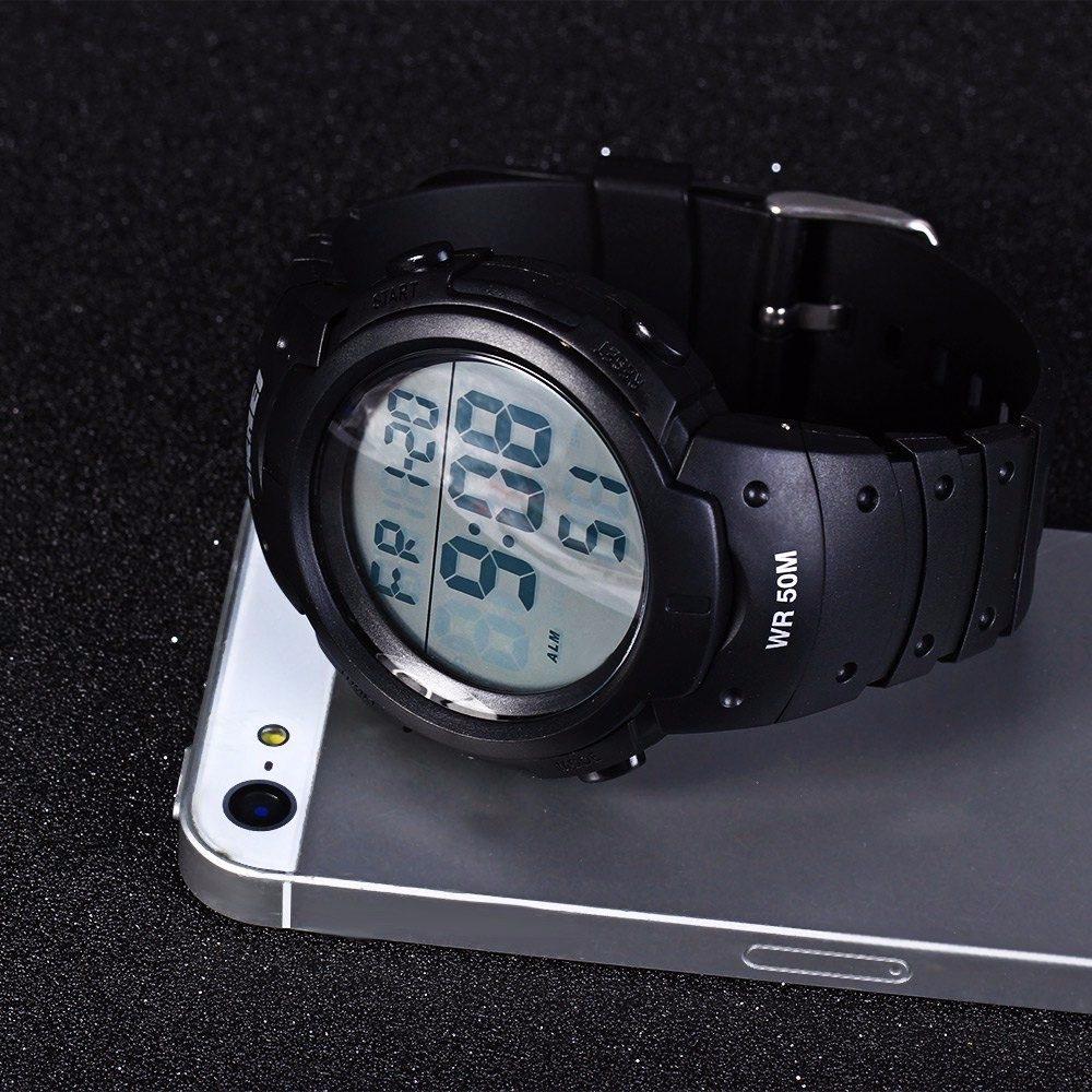 38500ce325f relógio masculino esportivo skmei 1068 promoção. 5 Fotos