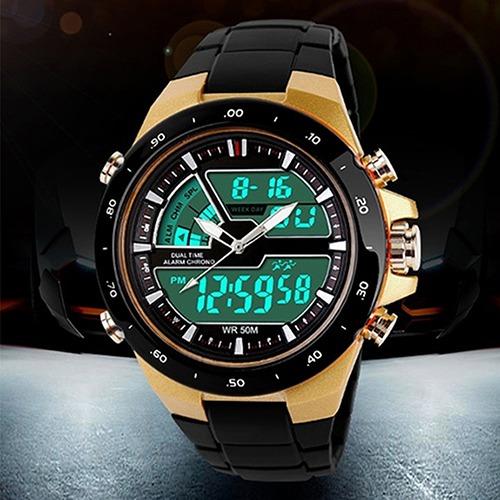 e121f134521 Relógio Masculino Esportivo Social Skmei Original N 18 - R  74