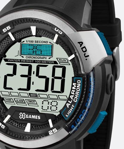 relógio masculino esportivo xgames xmppd469 bxpx - novo!!!!!