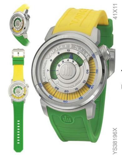 relógio masculino esportivo yankee street original ys38196x