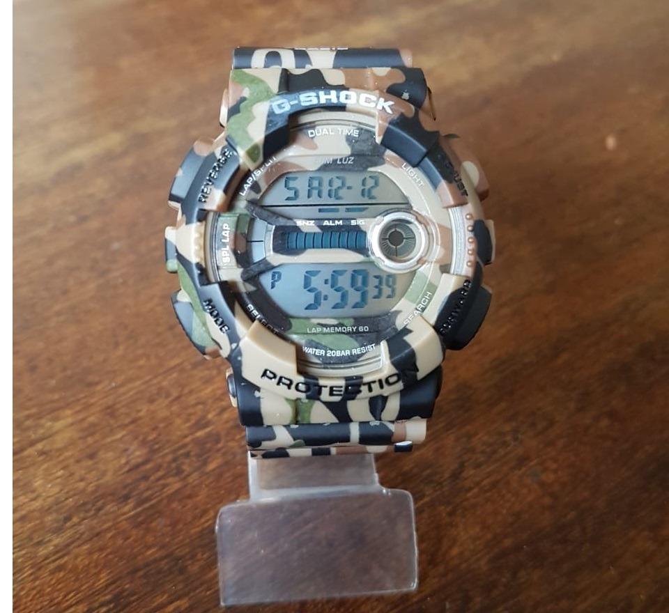a27dd7be9ec relógio masculino estil esportivo camuflado importado barato. Carregando  zoom.