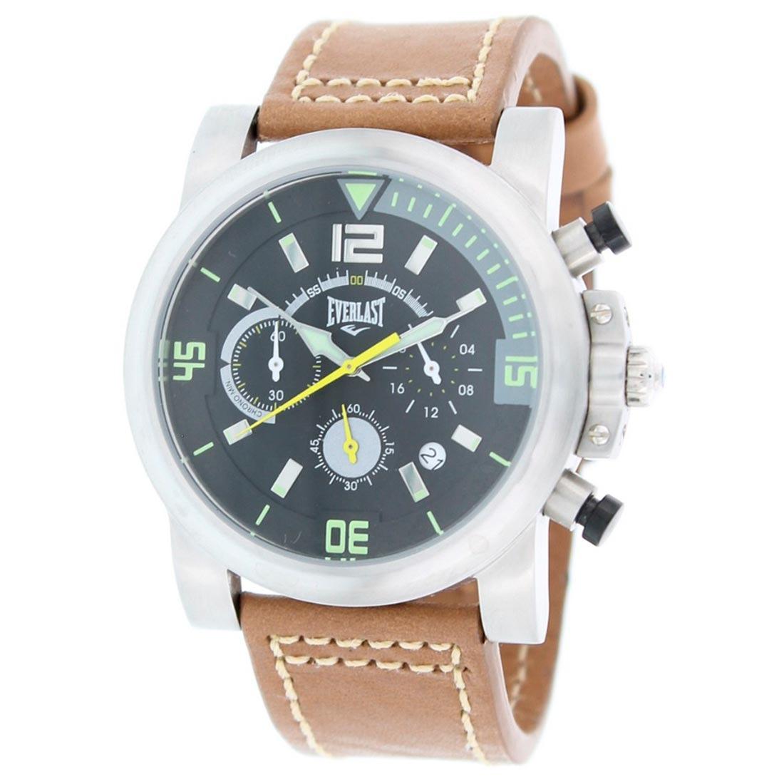 af18cc802e6 Relógio Masculino Cronógrafo Everlast - E225 - R  500