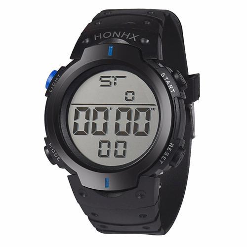 relógio masculino fem digital led promoção barato bracelete