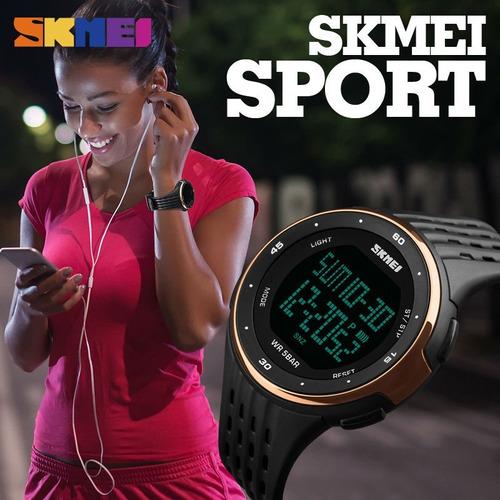 relógio masculino feminino militar esportivo original skmei