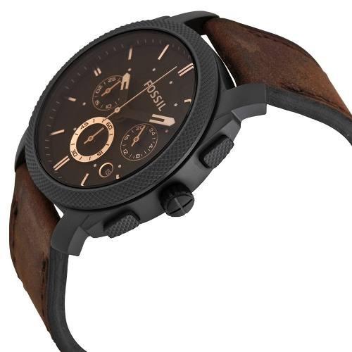 b162befe27dba Relógio Masculino Fossil Fs4656 Couro Garantia De 2 Anos Fs - R  714 ...