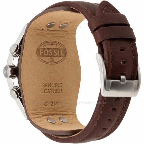 relógio masculino fossil coachman -ch2891 ( rev.autorizado)