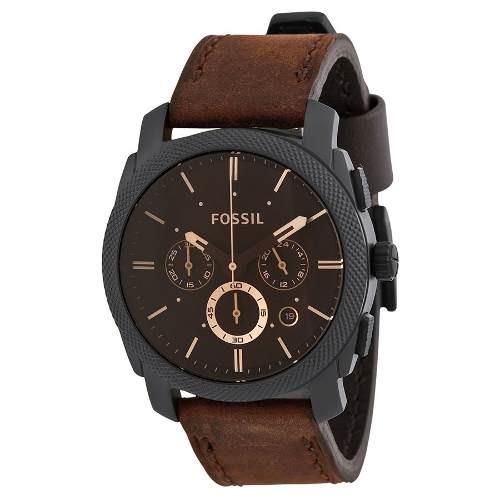 5fcbce8732fda Relógio Masculino Fossil Fs4656 Couro Garantia De 2 Anos Fs - R  714,00 em  Mercado Livre