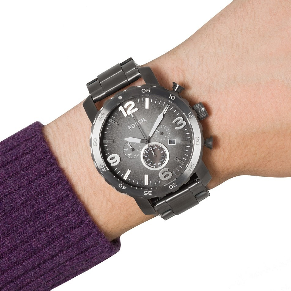 401aa9a2b0f8b relógio masculino fossil - jr1437 original c  nota fiscal. Carregando zoom.