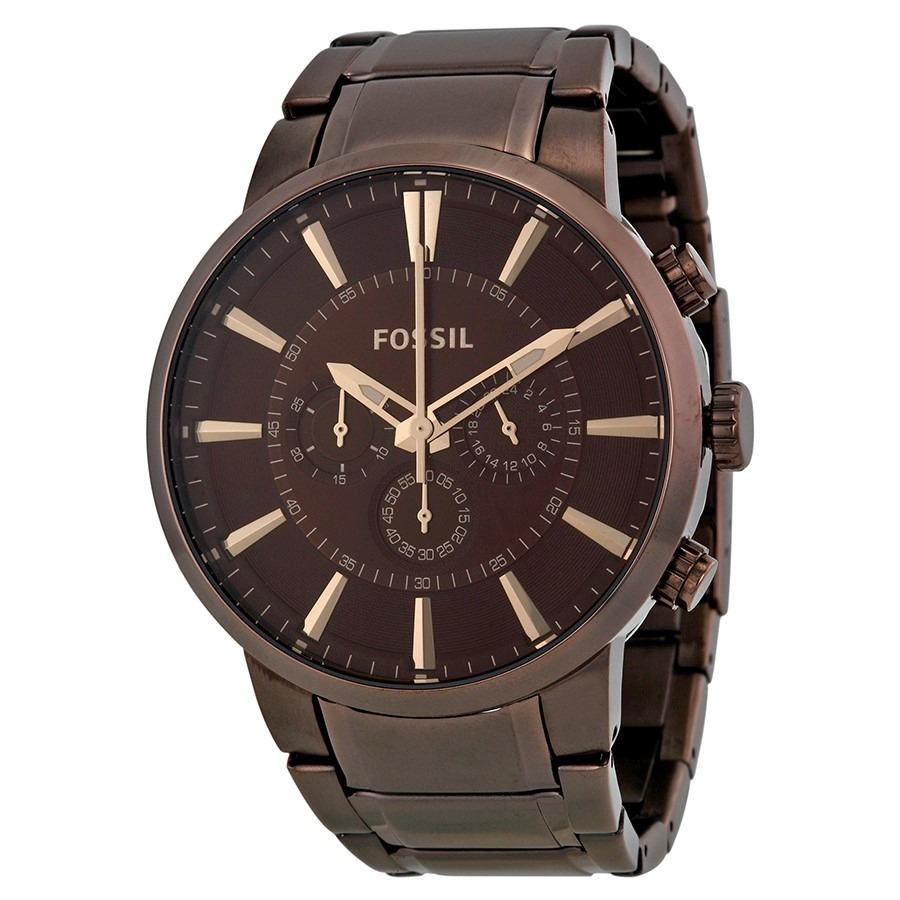 36d988a8fa8 relógio masculino fossil marrom - fs4357( nota fiscal ). Carregando zoom.