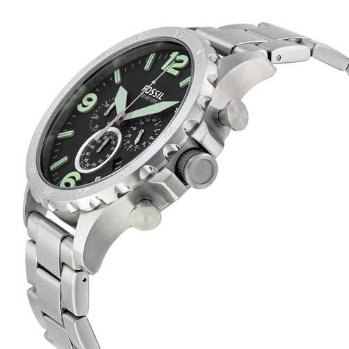 relógio masculino fossil nate - jr1499