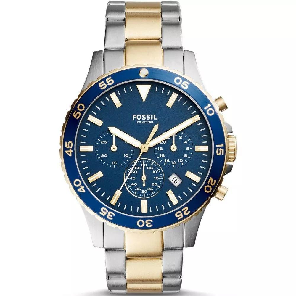 887d085681b Relógio Masculino Fossil - Puls.aço - Ch3076 5an - R  550