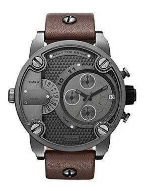 relógio masculino fumê com pulseira de cinta