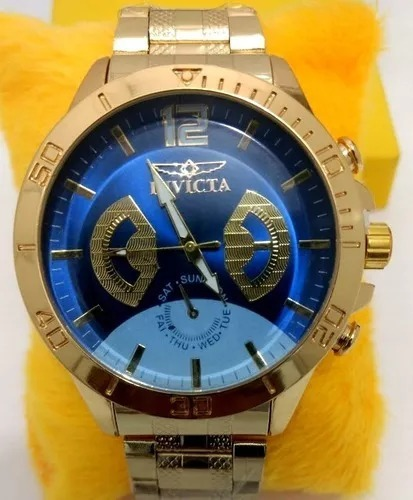 dfb5e6d04 Relógio Masculino Fundo Azul