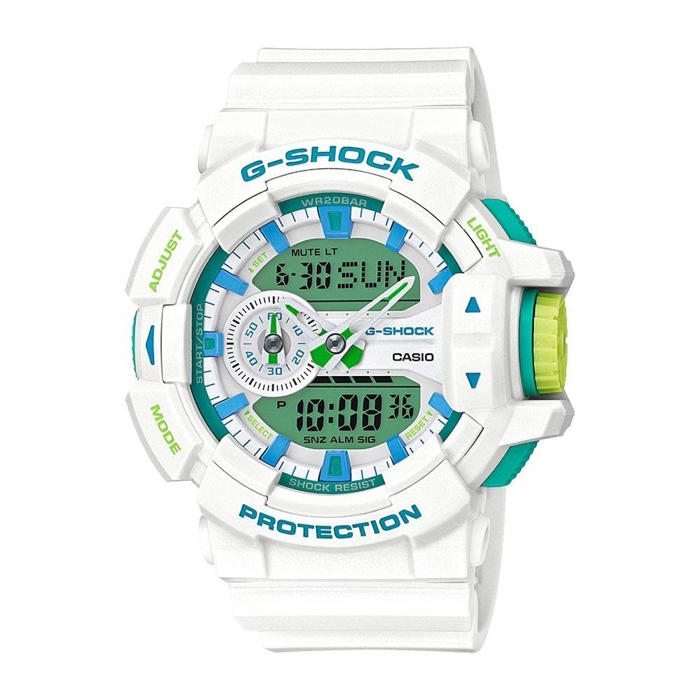 1e0b954dc3c relógio masculino g-shock analógico digital ga-400wg-7adr. Carregando zoom.