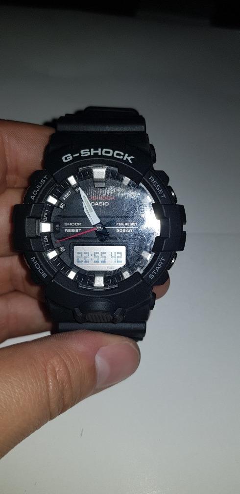 34c1623c3ff relógio masculino g-shock analógico digital ga-800-1adr. Carregando zoom.